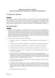 Tasa Apertura Establecimientos 2011 - Ayuntamiento de Motril