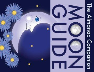 The Almanac Companion Moon Guide - The Old Farmer's Almanac
