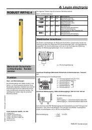 ROBUST RRT42.4 - Leuze electronic
