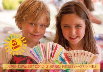 Camp Brochure - The Jewish Community Center of Greater Pittsburgh