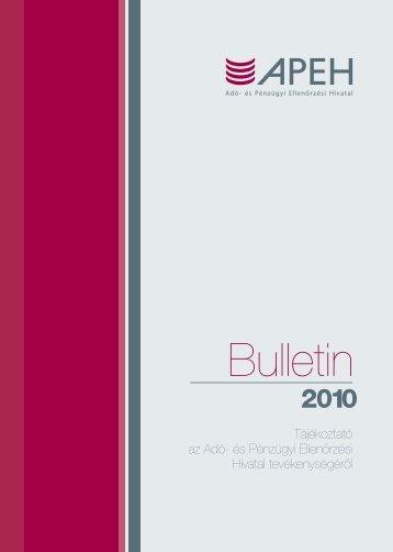 Bulletin 2010 - Nemzeti Adó