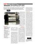 Test banc d'essai du bloc mono Vincent SP-995 dans la revue ... - Page 2