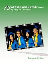 ADSB Course Calendar - Algoma District School Board