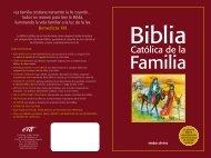 Folleto Biblia Católica - editorial VERBO DIVINO