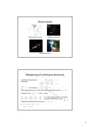 11. Shock waves and shock acceleration
