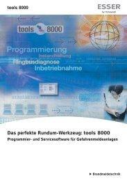 Das perfekte Rundum-Werkzeug: tools 8000 - ESSER by Honeywell