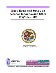 Illinois Household Survey on Alcohol, Tobacco, and Other Drug Use ...