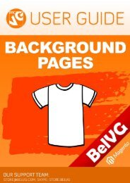 Background Pages User Guide - BelVG Magento Extensions Store