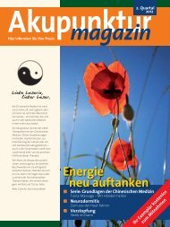 Energie neu auftanken