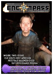 Issue 26 DECEMBER 2010 - Goodna Scout Group - Scouts ...