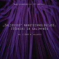 PDF – 2.2 MB (Lietuvių k., 2009) - Baltijos aplinkos forumas Lietuvoje