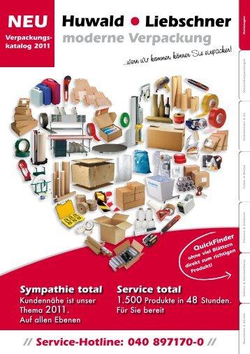 // Service-Hotline: 040 897170-0 // - von huwald-liebschner.com