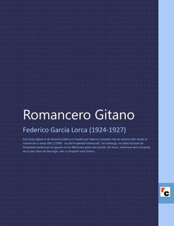 Romancero Gitano - Descarga Ebooks