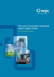 140130 Final AEGIC Supply Chains Report
