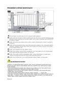 Návod k obsluze pro elektrický pohon - Deramax.cz - Page 6