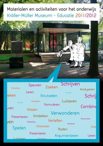 digitale educatiefolder 2011-2012 - Kröller-Müller Museum