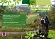 Brighton & Hove Healthwalks Led Walks Programme ... - Walk4Life
