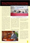QUARTERLY BULLETIN - Ministry of Public Service - Page 6