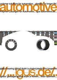 Polymer-Lösungen für Automotive... igus-automotive.de... ...polymer ...