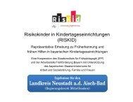 Landkreis Neustadt ad Aisch-Bad - Arbeitsstelle Frühförderung Bayern
