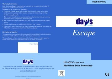 Escape - Days Healthcare