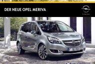 Opel Meriva - Produkte24.com