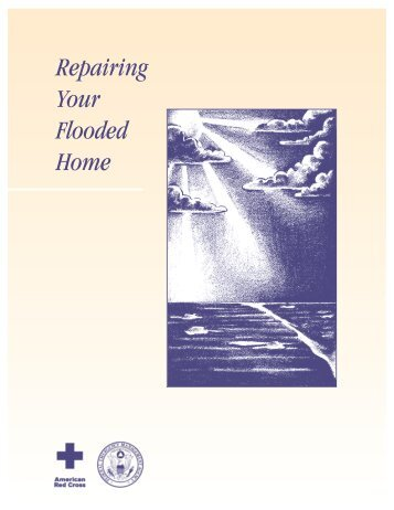 Repairing Your Flooded Home PDF - American Red Cross