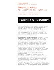 Press release - fabrica