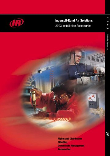 Ingersoll-Rand Air Solutions 2003 Installation Accessories