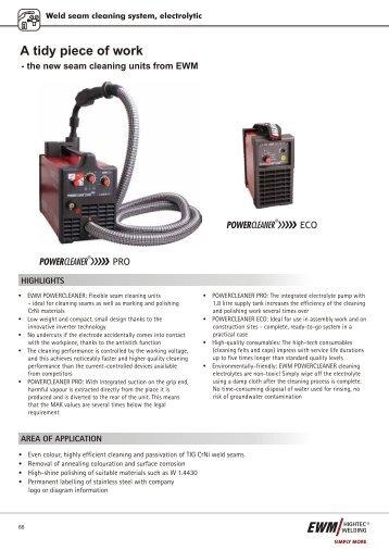 Product Catalogue 2009 - Ewm-sales.co.uk