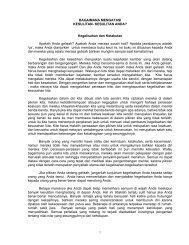 BAGAIMANA MENGATASI - Ven Dr K Sri Dhammananda