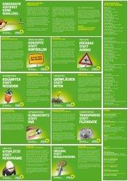 Folder 2012 - Die GRÜNEN in Dortmund