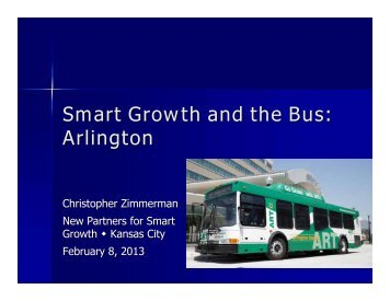 Zimmerman - New Partners for Smart Growth Conference