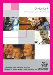 Canllawiau ar gyfer Cyfnodau Allweddol 2 a 3 Maint - Learning Wales