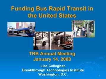 Los Angeles Orange Line BRT - Bus Rapid Transit Policy Center