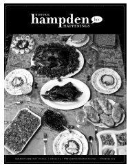 November 2011 (pdf) - Hampden Community Council
