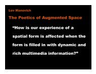 """How is our experience of a spatial form is affected ... - Daniel Sauter"