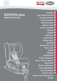 SAFEFIX plus - BRITAX RÖMER Child Safety