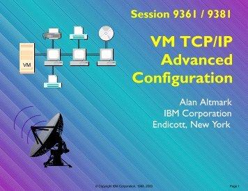 VM TCP/IP: Advanced Configuration (July 2000) - IBM