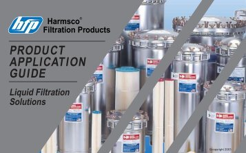 PRODUCT APPLICATION GUIDE - Harmsco
