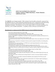 Scoping Comments - National Marine Sanctuaries