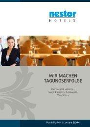 Wir machen Tagungserfolge - Nestor Hotels und Acom Hotels