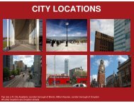 CITY LOCATIONS - Film London
