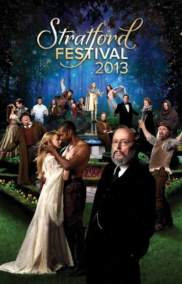 2013 Visitors' Guide - Stratford Festival