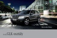 Az új GLK - osztály - Mercedes-Benz Magyarország