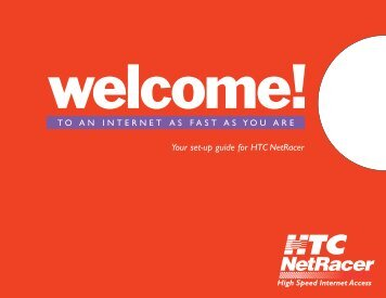 Netracer Welcome Kit - HTC