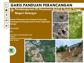 GARIS PANDUAN PERANCANGAN - JPBD Selangor