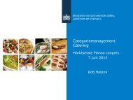 Categoriemanagement Catering - Pianoo