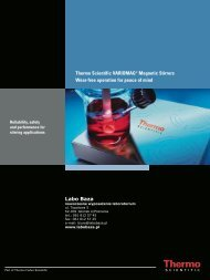 Thermo Scientific VARIOMAG® Magnetic Stirrers Wear ... - Labo Baza