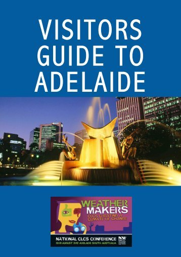 Visitors Guide to Adelaide - National Association of Community ...